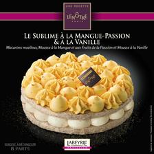 Labeyrie Le Sublime À La Mangue Passion Et À La Vanille , Recette Lenôtre 580g