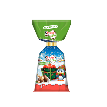 Kinder Kinder Mini Eggs Noisettes Sachet De 182g