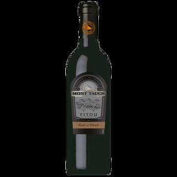 Fruité Vin Rouge Aop Fruité Et Velouté Fitou Mont Tauch, 75cl