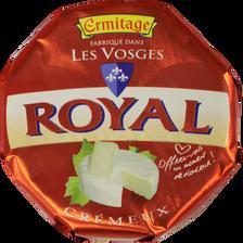 Fromage lait pasteurisé Royal Crémeux, 33%MG, ERMITAGE, 250g