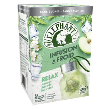 Elephant Infuse Froid Relax Elephant X15 Sachets 34g