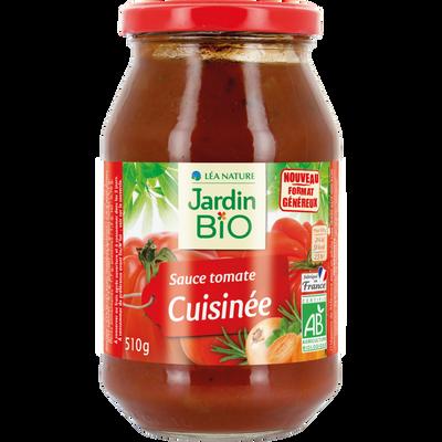 Sauce tomate cuisinée 510 g JARDIN BIO