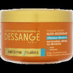 Masque capillaire Prodig'huile pour cheveux dénaturés JACQUES DESSANGE, pot de 250ml
