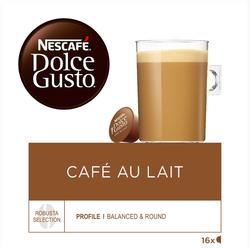 Nescafé Café au lait DOLCE GUSTO, x16 soit 160g
