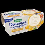 Blédina Douceur Au Fromage Blanc Arômatisé Aux Mirabelles De Lorraine Bledina,dès 8 Mois, 4x100g