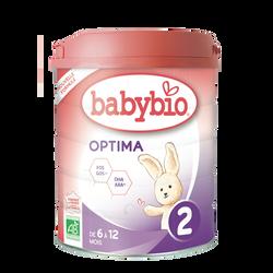 Lait de suite BABYBIO Bio à partir de 5 mois 800g