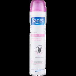 Déodorant dermo-invisible 24h SANEX, atomiseur 200ml