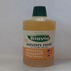Savon noir à l'huile de lin BIOVIE