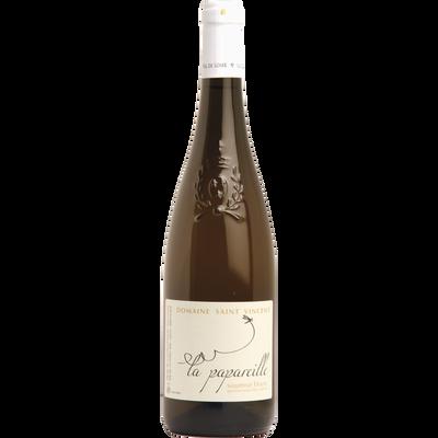 Saumur AOP blanc Domaine Saint Vincent La Papareille, bouteille de 75cl