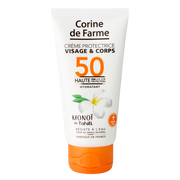 Corine de Farme Crème Protectrice Visage Corps Spf 50 Corine De Farme Tube 50ml