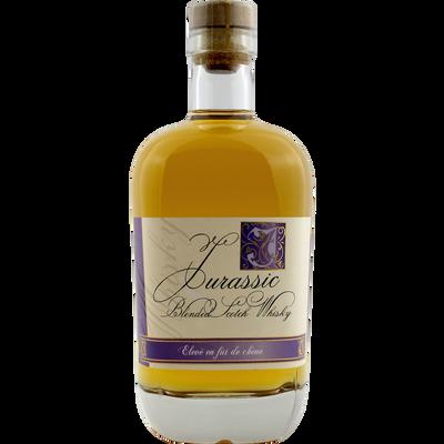 """Whisky Jurassic """"élevé en fût de chêne"""", bouteille 70cl"""