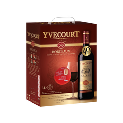 "Vin rouge AOC Bordeaux ""Cellier Yvecourt"", 3l"