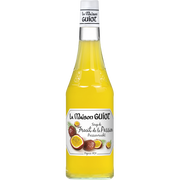 Monin Sirop Fruit De La Passion La Maison Guiot, Bouteille De 70cl