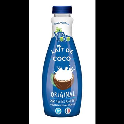 Lait de coco original VITA COCO, bouteille de 75cl
