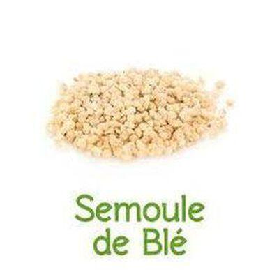 Semoule de blé bio vrac