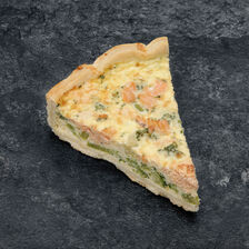 Quiche saumon brocolis