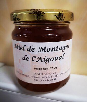 MIEL DE MONTAGNE DE L'AIGOUAL