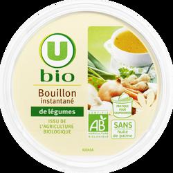 Bouillon instantané de légumes U BIO, pot de 100g