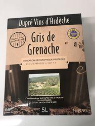 Chardonnay blanc 5L, dupré vins d'Ardèche