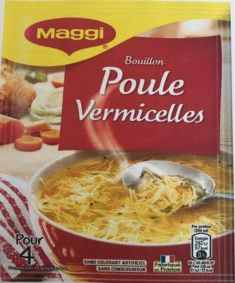 Bouilon Poule Vermicelles MAGGI, paquet de 65G