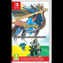 Jeu NINTENDO switch Pokémon épée+pass d'extension pour Pokémon épée