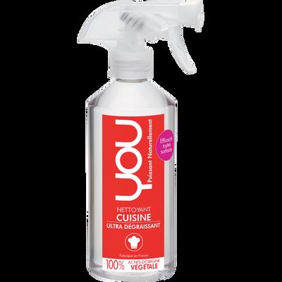 Nettoyant dégraissant pour cuisine YOU by SALVECO, spray de 500ml