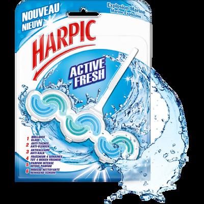 Bloc wc active fresh explosion marine HARPIC