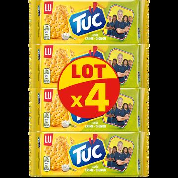 LU Crackers Crème Et Oignon Lu Tuc, 4x100g