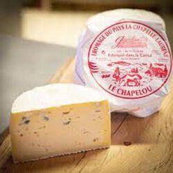 Fromage de pays au lait thermisé  Le Chapelou rouge , 32%MG Fromagerie Gardon