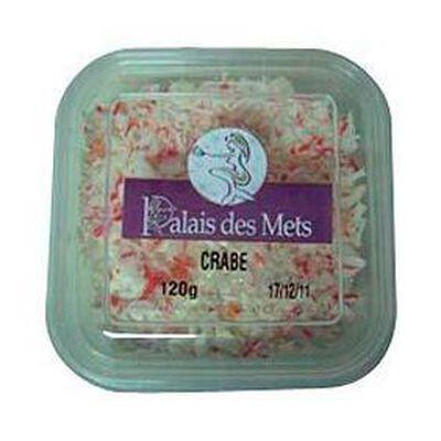 Salade de king crabe PALAIS DES METS, 120g