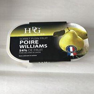 Sorbet plein fruit Poire Williams GINEYS