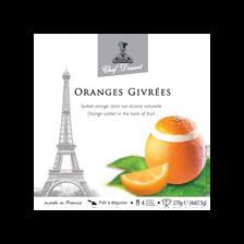 glace Oranges givrées CHEF DESSERT,  4x270g