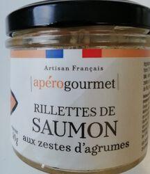 RILLETTES SAUMON ZESTE AGRUME 90gr