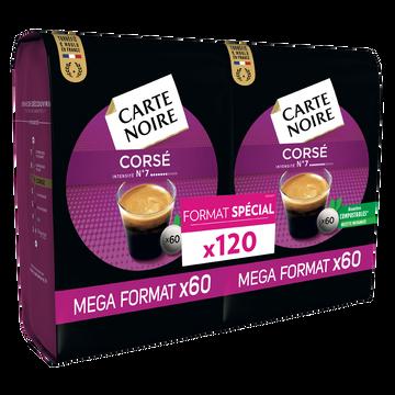 Carte Noire Café Corsé Carte Noire, 120 Dosettes