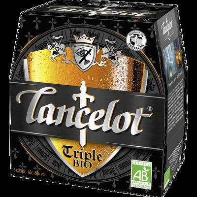 Bière blonde triple Lancelot Bio, pack 6x25cl