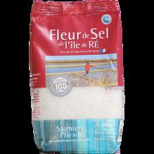 Sachet fleur de sel LES SAUNIERS L'ILE DE RE, 200g
