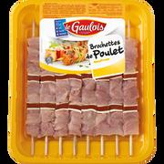 Le Gaulois Brochette Poulet/tomates, Le Gaulois, 8 Pièces 760 G