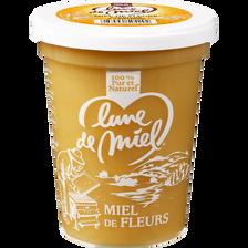 Miel de fleurs crémeux LUNE DE MIEL, pot de 500g