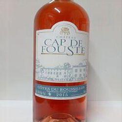 COTES/ROUSS. AOP CAP DE FOUSTE ROSE 75 cl
