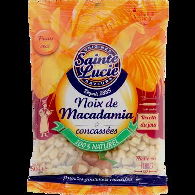 NOIX DE MACADAMIA CONCASSEES Sachet 50g