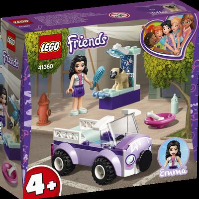 La clinique veterinaire mobile d'emma LEGO Friends