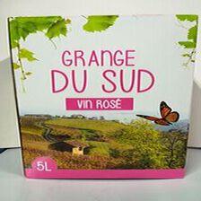 BIB GRANGE DU SUD ROSE 5L