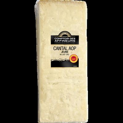 Cantal jeune AOP lait cru 30%mg COMPTOIR DES AFFINEURS 180g