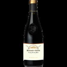 Vin rouge AOP des cotes du Rhône BEAUMES DE VENISE, 15° bouteille de 75cl