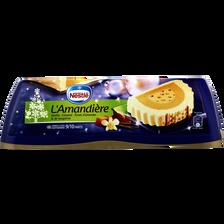 Nestlé Bûche Glacée L'amandière Vanille, Caramel, Éclats D'amandes & De Nougatine , 540g