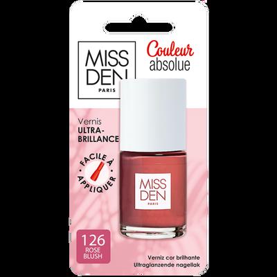 Vernis couleur absolue rose blush 126 MISS DEN
