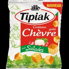 Croûtons pour salade goût chèvre, TIPIAK, 60g
