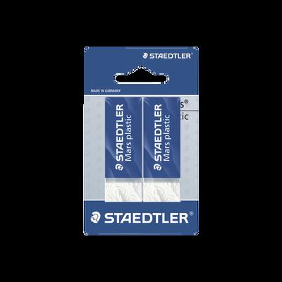 Gomme STAEDLER Mars plastic, pack de 2