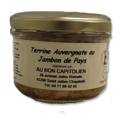 Terrine Auvergne au Jambon de Pays Mère Lavergne 180g