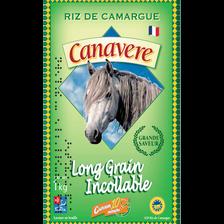 Riz long étuvé 10minutes IGP Camargue BENOIT RIZ DE CANAVERE, paquet de 1kg